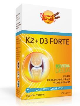 Natural Wealth K2 + D3 Forte